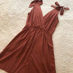 Dresses & Skirts - Dusty Rose dress from Mikanos perfect condition